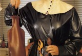 Free porn pics of Doro , masked bizarr vintage diva in rubber and leather 1 of 50 pics