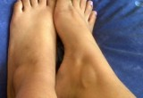Free porn pics of My cutely toes & feet 1 of 2 pics