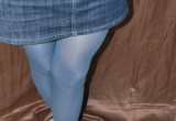 Free porn pics of Marvellous blue pantyhose 1 of 12 pics