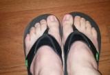 Free porn pics of my male feet 1 of 4 pics