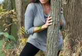 Free porn pics of Christina in the woods 1 of 100 pics