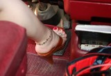 Free porn pics of Wooden High Heel Thongs / Pedal Pumping 1 of 36 pics