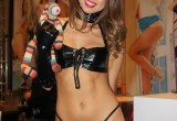 Free porn pics of Riley Reid - Leather Outfit 1 of 8 pics