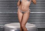 Free porn pics of Nikki Delano In Silver Spandex Bikini And Platforms 1 of 37 pics