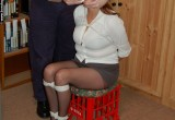 Free porn pics of Sapphire bound in a miniskirt 1 of 59 pics