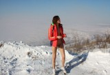 Free porn pics of Karina A - The coldest place to piss in the world / Pee in natur 1 of 50 pics