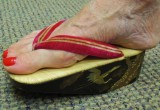 Free porn pics of okobo - maiko geisha aprentice wooden sandals from japan 1 of 103 pics