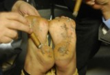 Free porn pics of Barefoot Cecilia: Bare Soles Extinguish Cigars, Cigarettes, & Ca 1 of 37 pics