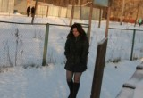 Free porn pics of Alisa piss in public square / Pee outdoor in the snow 1 of 43 pics