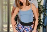 Free porn pics of Riley Reid - atk.II, flower skirt, fjob fuck 1 of 106 pics