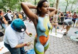 Free porn pics of NYC Bodypainting Day Public Nude Women 1 of 243 pics