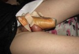 Free porn pics of Ballet Shoe Chastity  1 of 4 pics