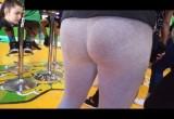 Free porn pics of Grey Leggings Teen Plump Arse 1 of 18 pics