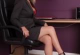 Free porn pics of Blonde femdom secretary 1 of 64 pics