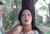 Free porn pics of Wenona - Outdoor Oiled Bondage 1 of 19 pics
